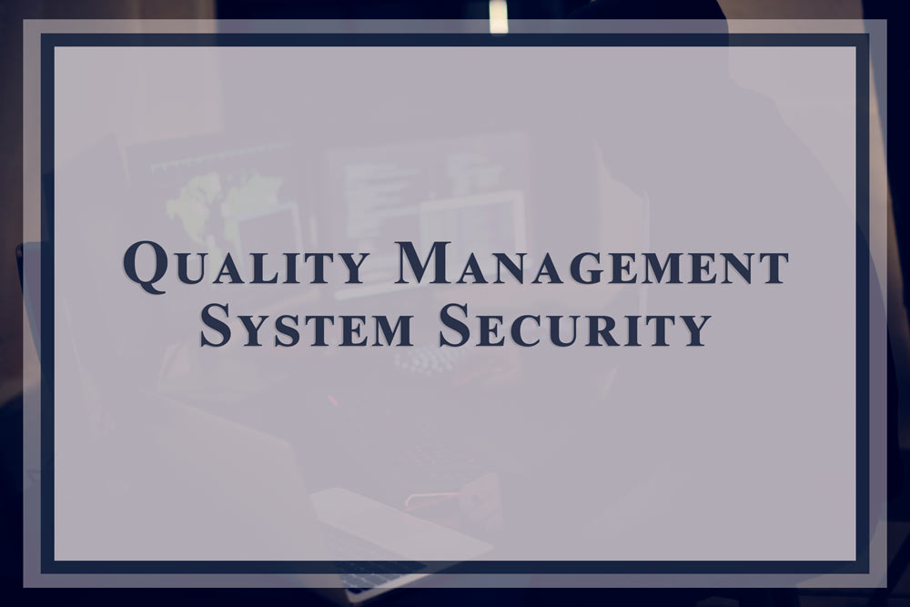 Enterprise Quality Management System